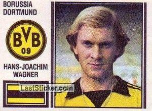 Joachim Wagner hans joachim wagner 1980 81 borussia dortmund 33presenze e 2 gol in