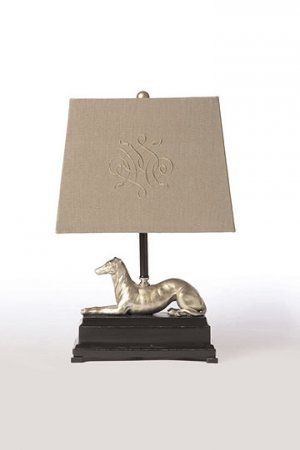 Greyhound Accent Table Lamp