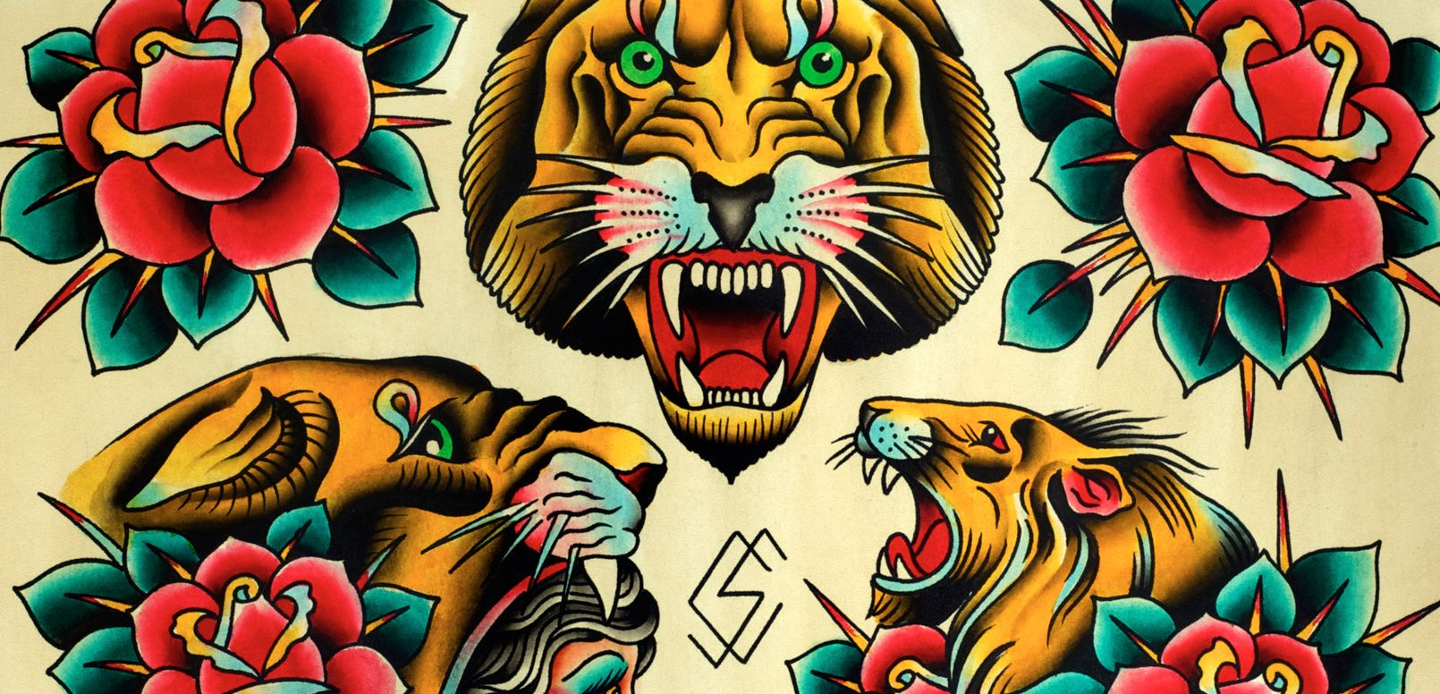 Traditional Lion Head Ideas For Next Tattoo Traditional Lion Tattoo American Traditional Tattoo Traditional Tattoo Traditional tattoo flash wallpaper