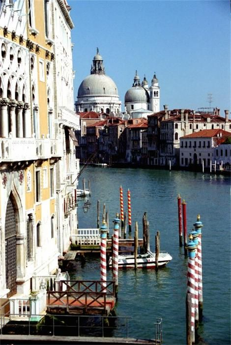 Grand Canal In Venice From Accademia Bridge Photograph By Michael Henderson
