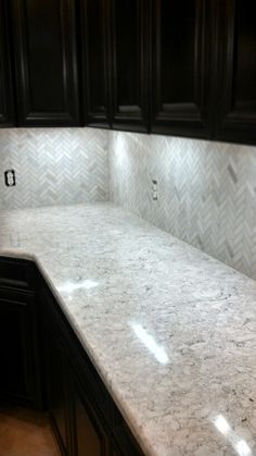 LG Viatera Aria Vs Cambria Bellingham. Same Color Palate, But Aria ... Quartz  CountertopsKitchen ...