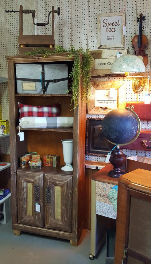 The new face of a Rustic, Cottage-styled cabinet!