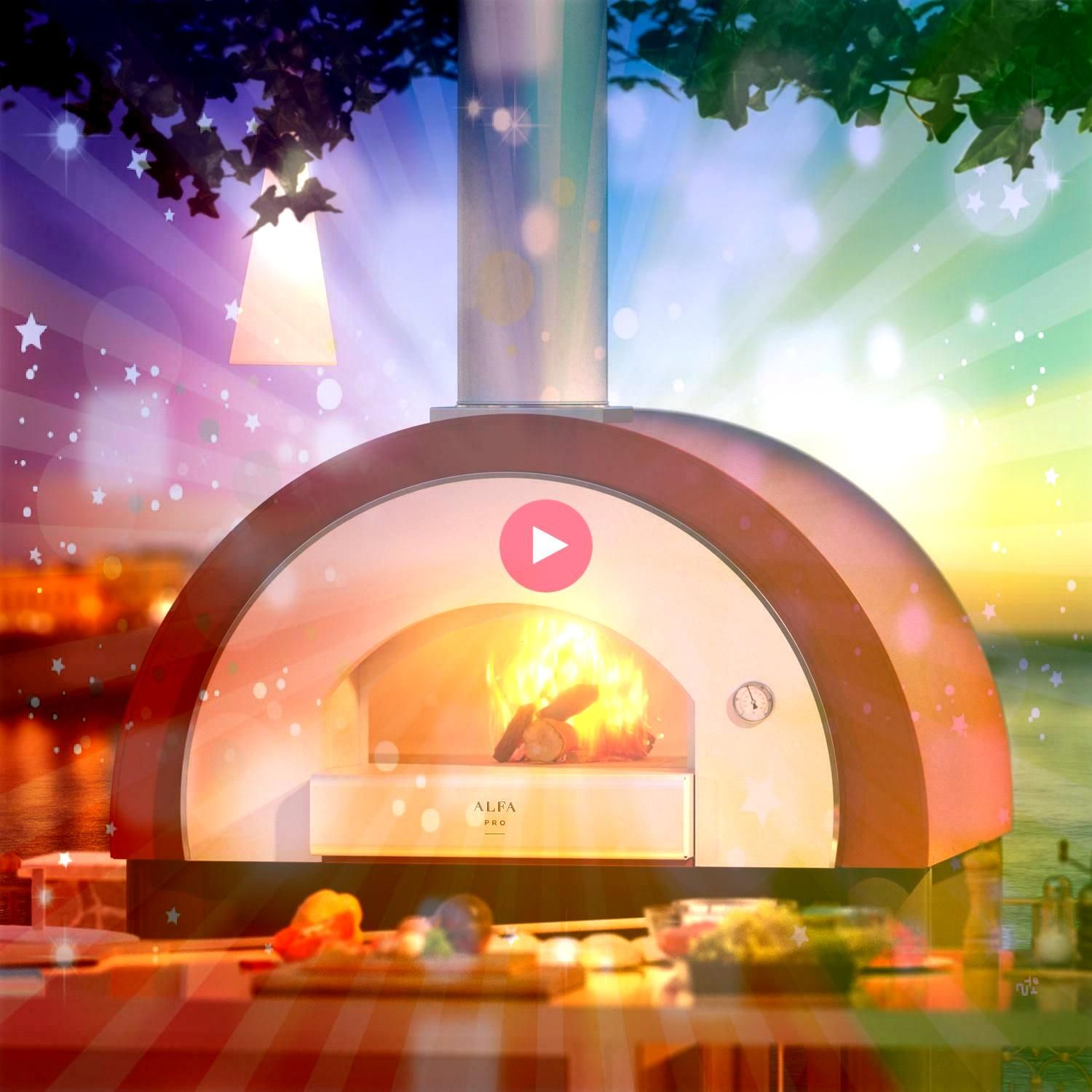 Quick 47Inch Outdoor WoodFired Pizza Oven  Ovens  Ideas of OvensAlfa Quick 47Inch Outdoor WoodFired Pizza Oven  Ovens  Ideas of Ovens This year too HOST has been a succes...