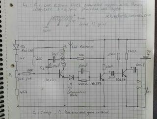 Schema Elettrico Walkie Talkie : Simple fm radio sure works! projects to try fm radio receiver