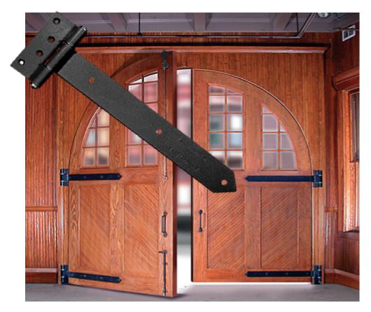 Restaurant Door Hinge Types