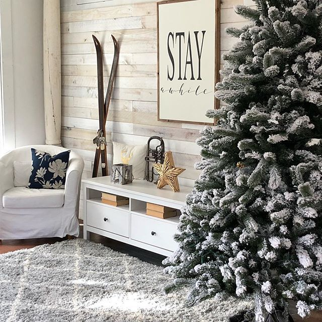 Accent Wall Using Weaber White Wash Wall Boards By Kelly