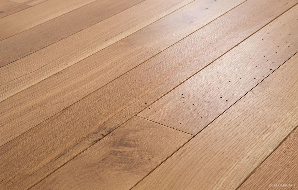 Oiled Character Grade White Oak Pure Finish floor