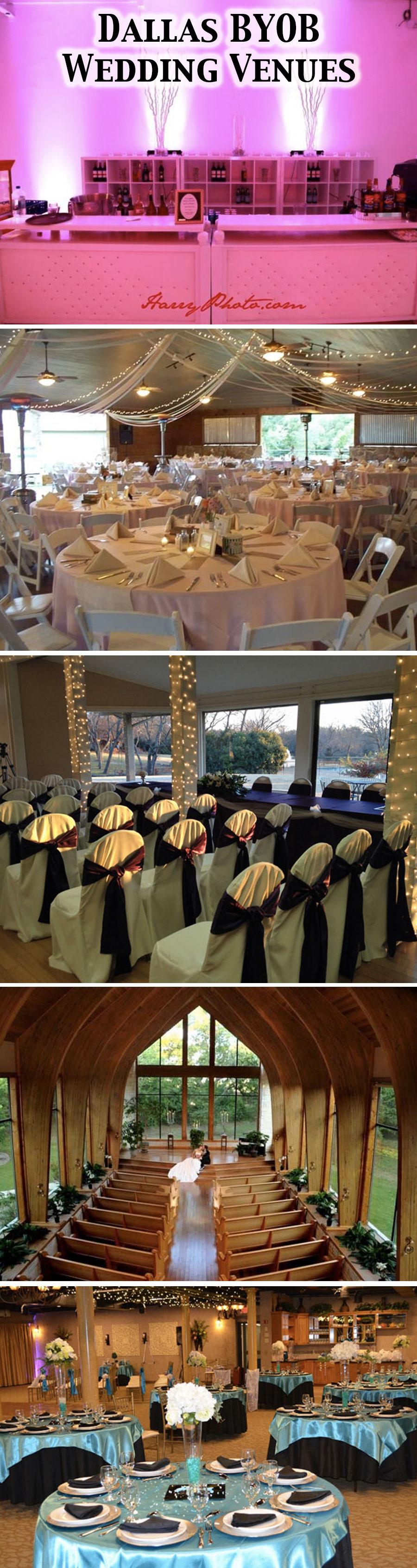 7 BYOB Wedding Venues in Dallas & Fort Worth [Exclusive