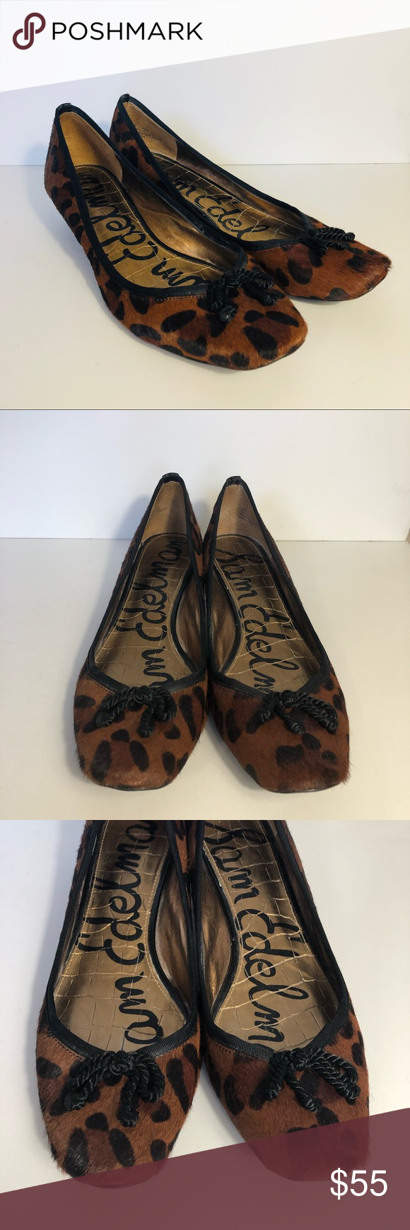 a3fcd4fcf4 Sam Edelman Hope Cow Hair Kitten Heels Great used condition. Heels have  some wear. Sam Edelman Shoes Heels