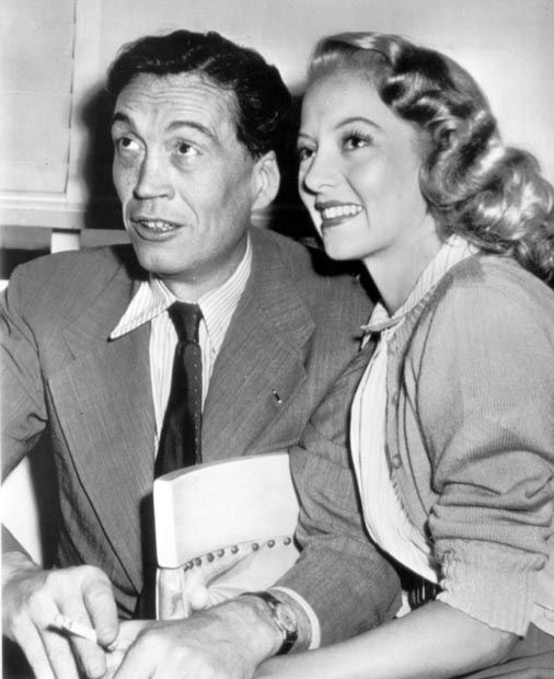 Image result for john huston and evelyn keyes