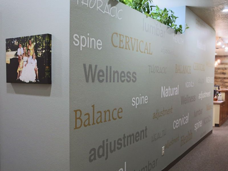 Vinyl Wall Lettering   Chiropractor Office Wall Letters    WoodlandManufacturing.com