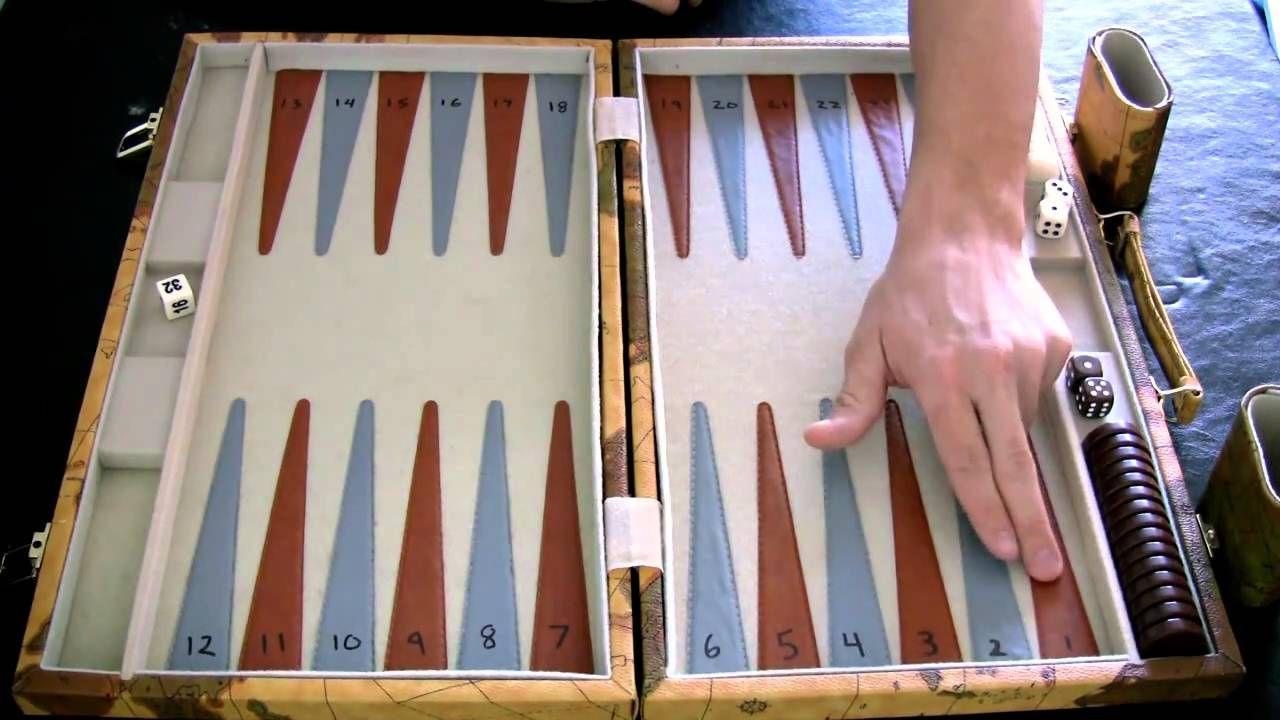 Beginner Backgammon Tutorial 1 Setting up the Board