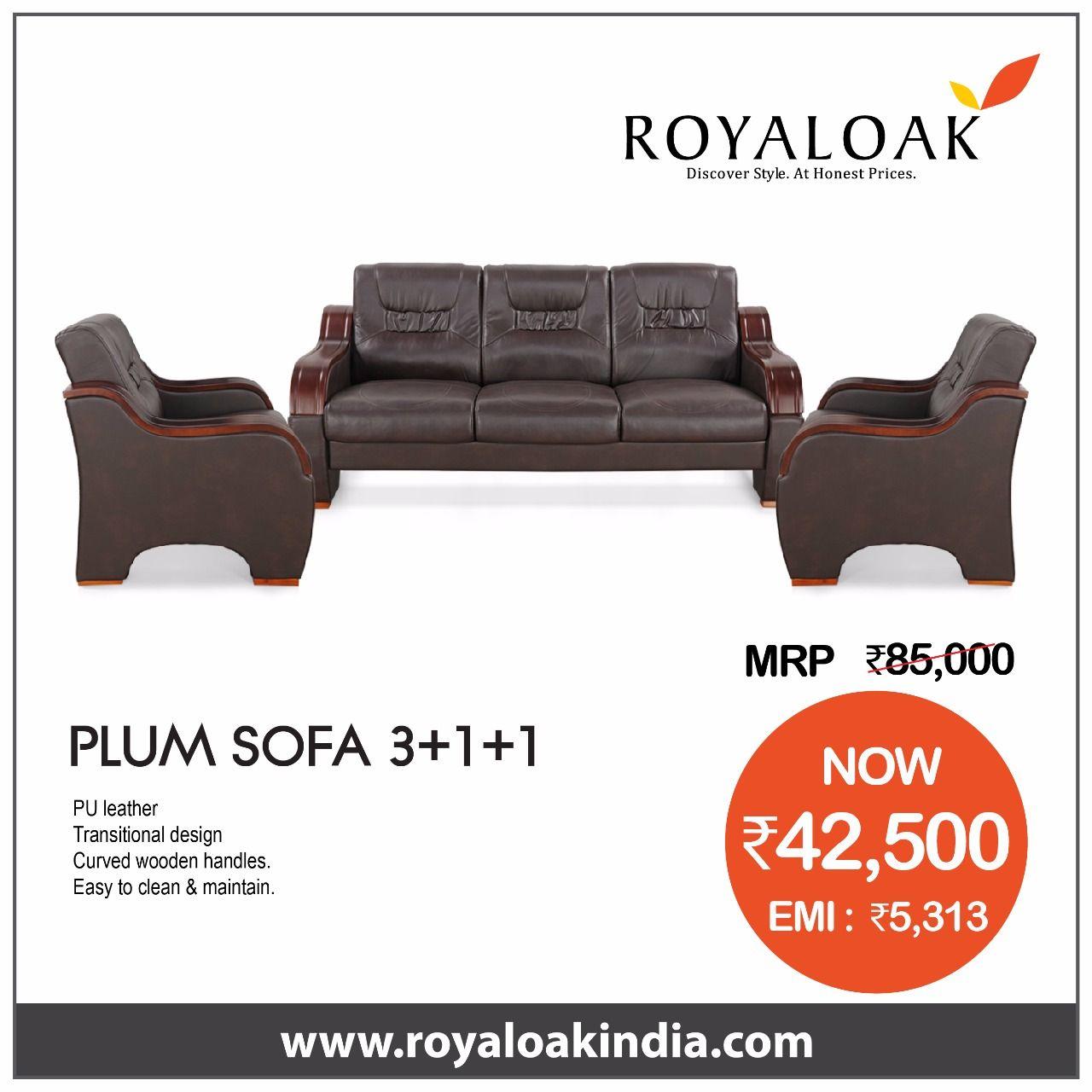 Pin By Royaloak Furniture On Royaloak Sofa Sets Buy Furniture Online Buying Furniture Online Furniture