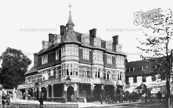 The Hotel Sutton Later Building 1898 Demolished 1961