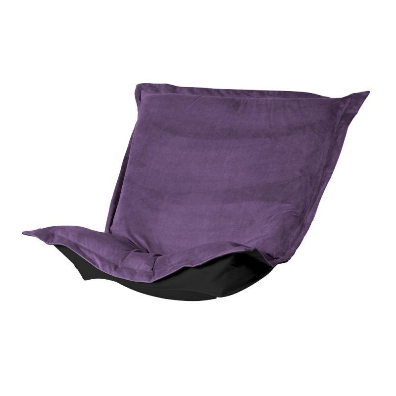 Howard Elliott 300-223P Bella 40 X 49 Puff Chair Cushion Eggplant Furniture Seating Seat Cushions