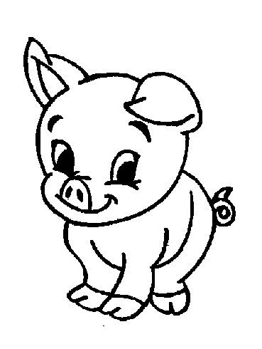 Farm Coloring Pages Baby Farm Animals