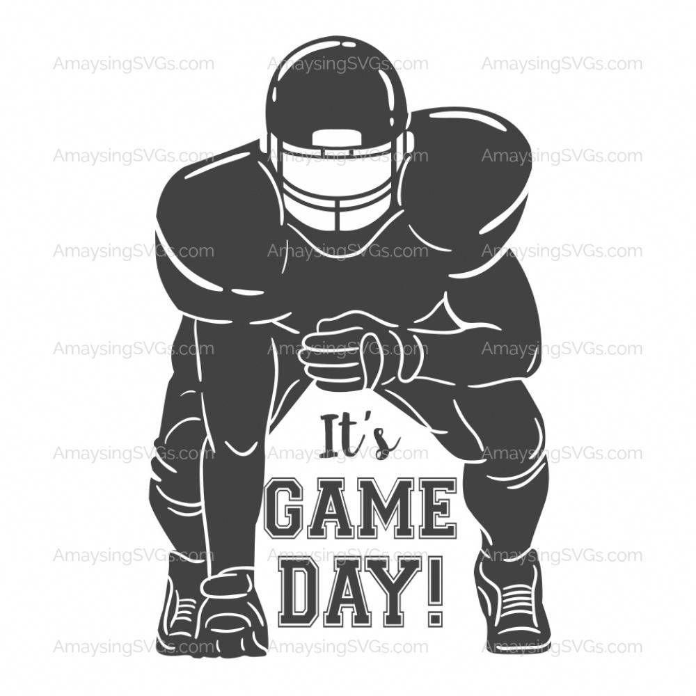 SVG It's Game Day Football svg Superbowl svg Footb