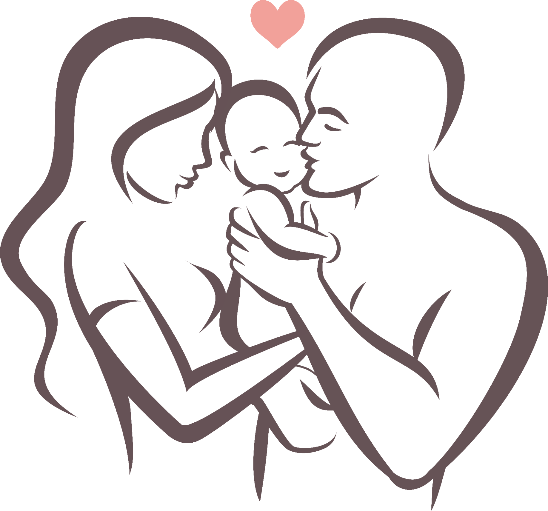 Mother Father And Baby Drawing Free Download Best Mother Father And Baby Drawing On Clipartmag Com In 2020 Baby Drawing Baby Clip Art Mothers Day Drawings