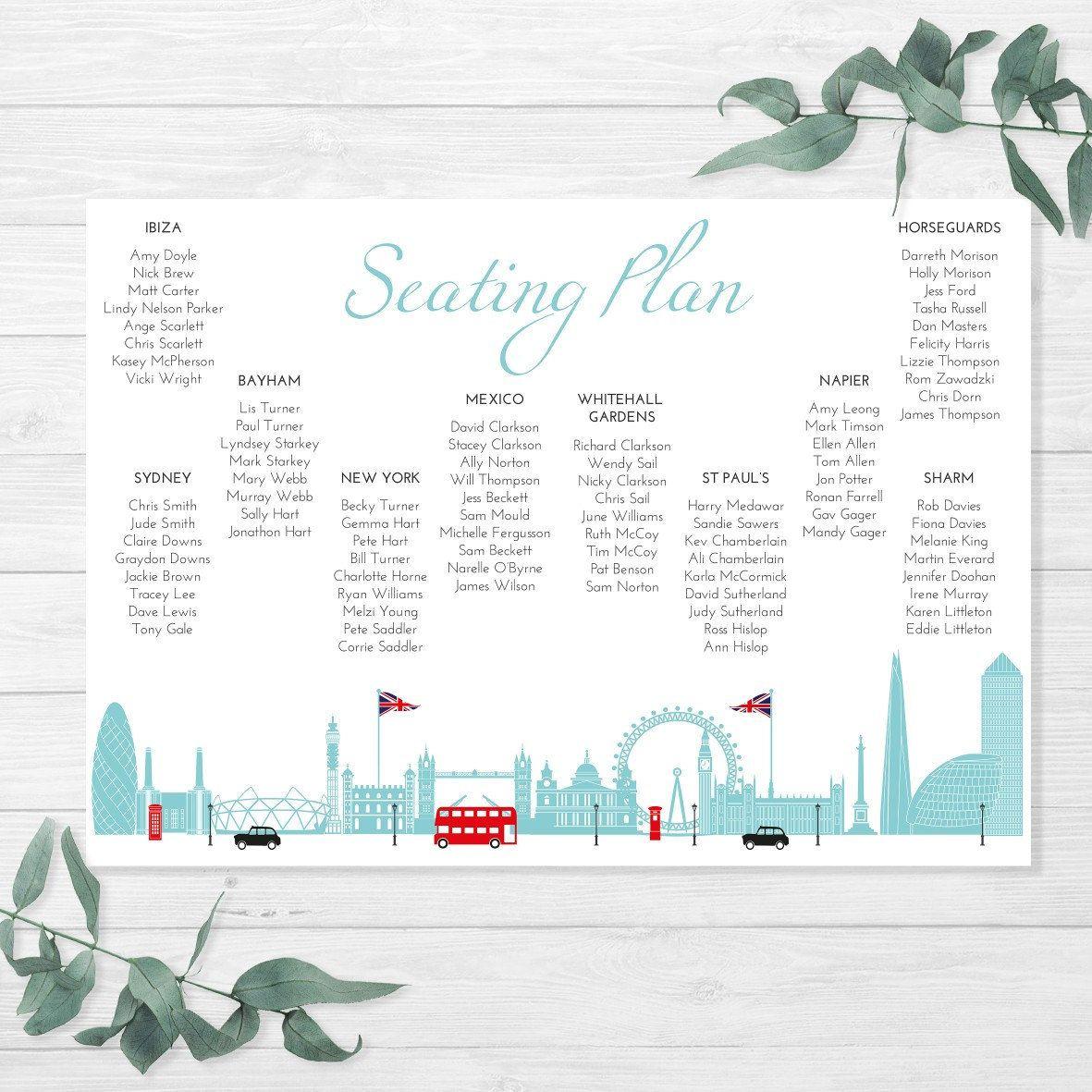 London Themed Wedding Invitation |wedding invitation | London City ...