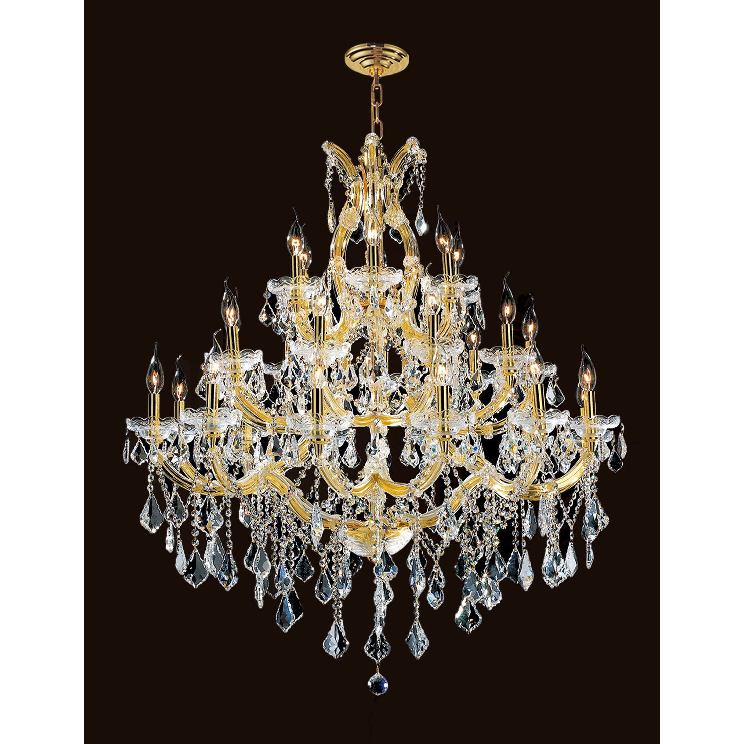 Brilliance Lighting And Chandeliers Maria Theresa 28 Light