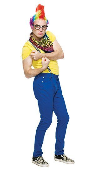 be the hippest person at the halloween party with this hipster clown costume idea from savers - Hipster Halloween Ideas