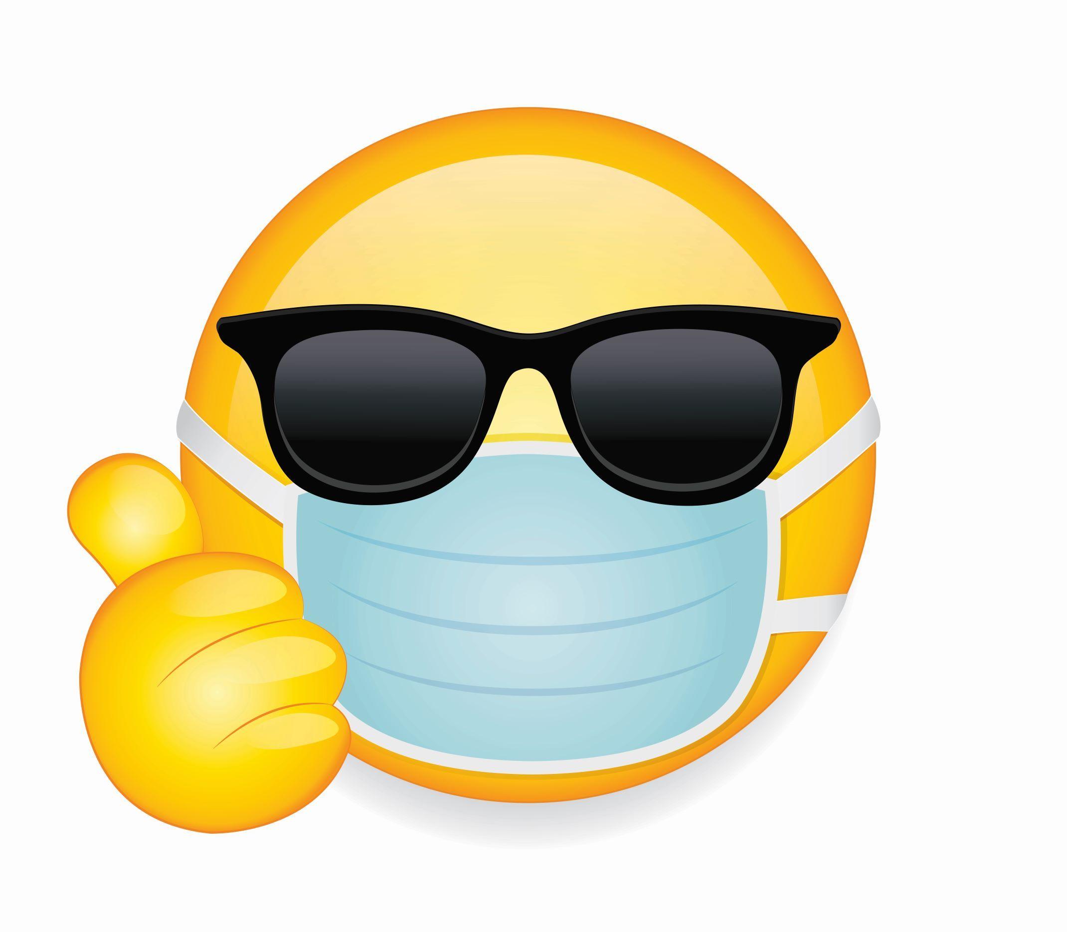 Cool Mask Emoji in 2020 Sick emoji, Emoji, Emoji wallpaper