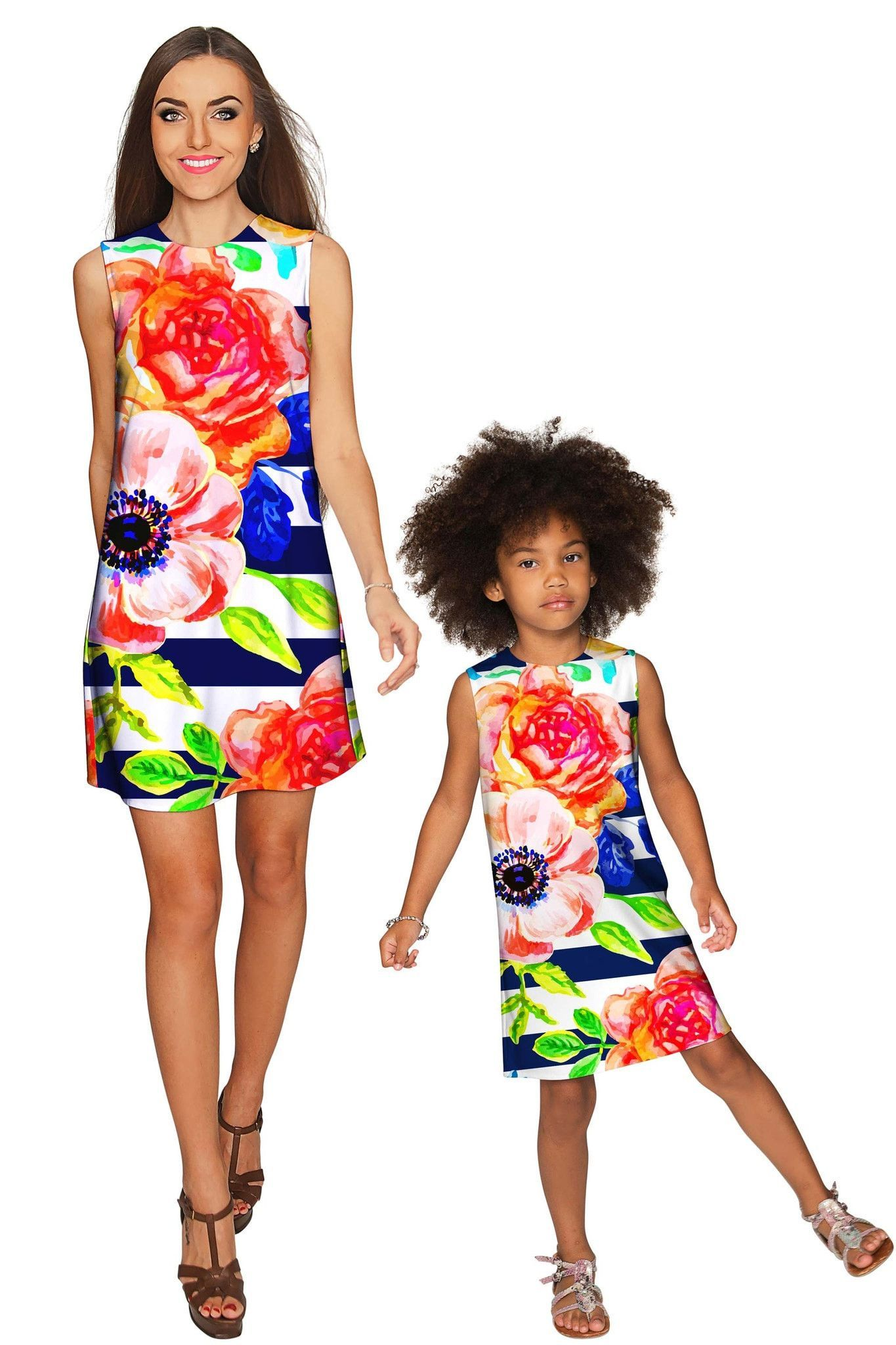HeySailor Adele Shift Floral Mommy and Me Dress  Products