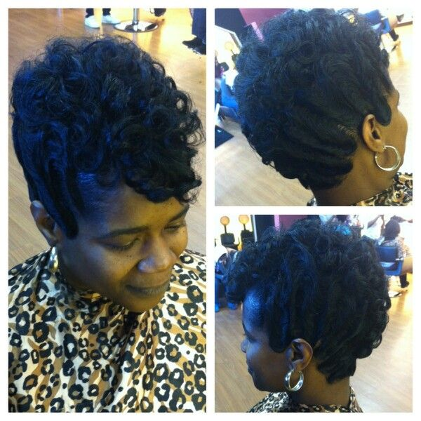 Pin On Finger Waves Curls