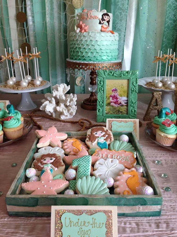 Under the Sea/ Mermaid Birthday Party Ideas Photo 22 of