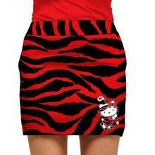 52b90e110 Loudmouth Golf Womens Skort - Hello Kitty in Red Tarzan | Golf ...