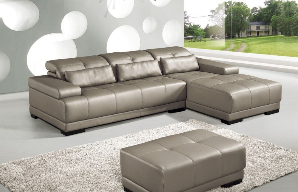 Find More Living Room Sofas Information About Cow Genuine Leather Sofa Set Living Room Furniture Couch Sofas Living Room Sofa Sectional Corner Sofa Shipping To