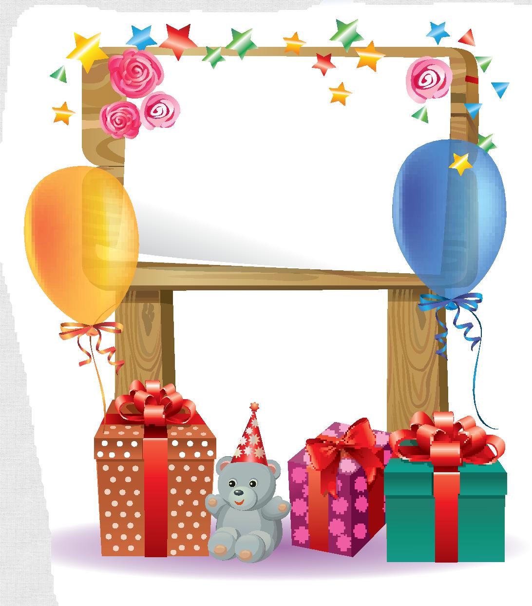 Fête d\'enfant   Frame and border   Pinterest   Birthdays, Birthday ...