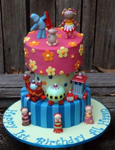 In The Night Garden Furniture In the night garden cake igglepiggle cake upsy daisy cake ninky in the night garden cake igglepiggle cake upsy daisy cake ninky nonk cake workwithnaturefo
