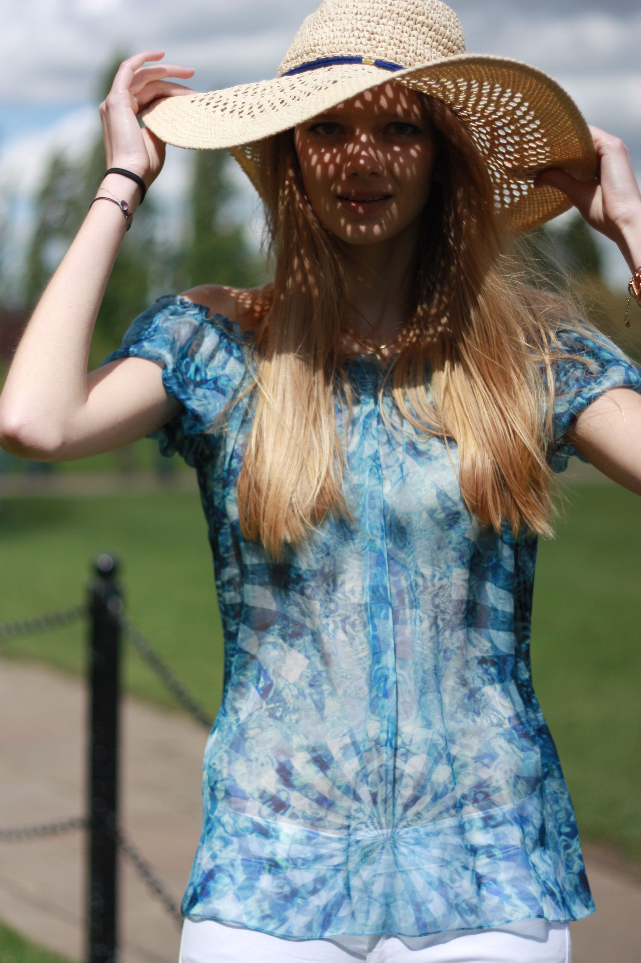 Kent Top | Grab attention in our eye-catching kaleidoscope digital print