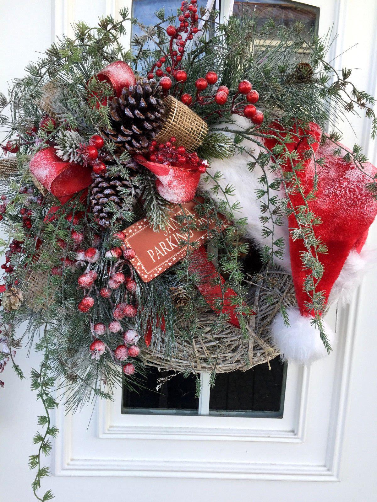 T rkranz weihnachten weihnachtskranz weihnachtsdeko xxl for Weihnachtsideen dekoration