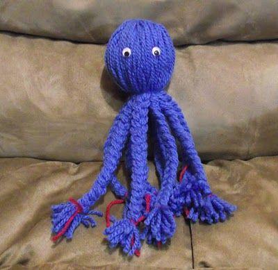 Photo of Yarn Octopus Dolls