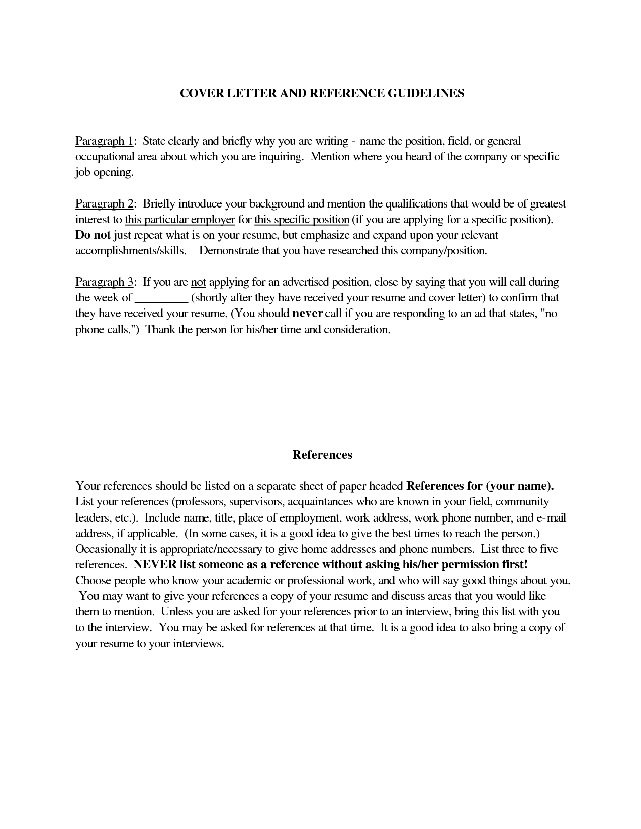 Guidelines For A Resume Simple Doc Closing Paragraph Cover Letter Thank You Ending  Job .