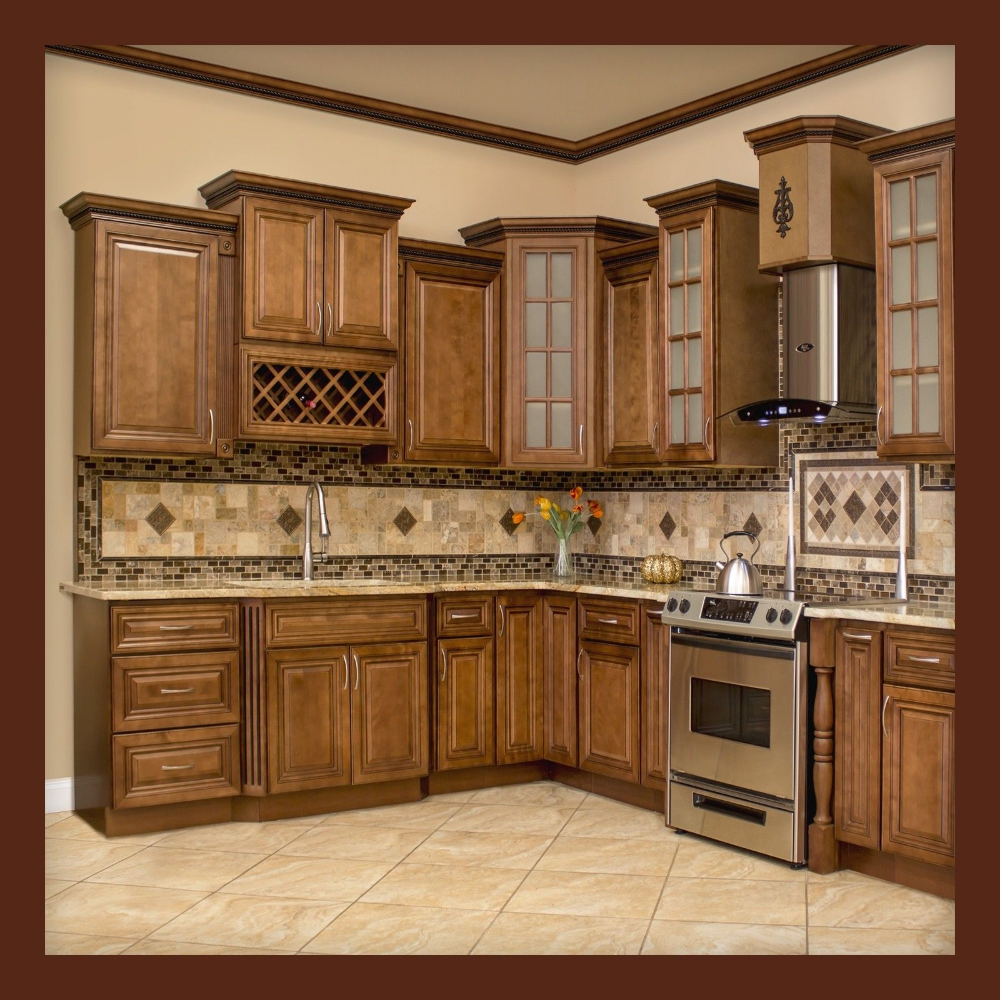 10x10 All Solid Wood KITCHEN CABINETS GENEVA RTA ...