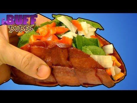 Bacon taco recipe taco shell made of bacon youtube keto main bacon taco recipe taco shell made of bacon youtube forumfinder Choice Image