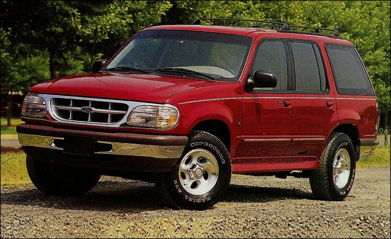 1996 ford explorer tire size