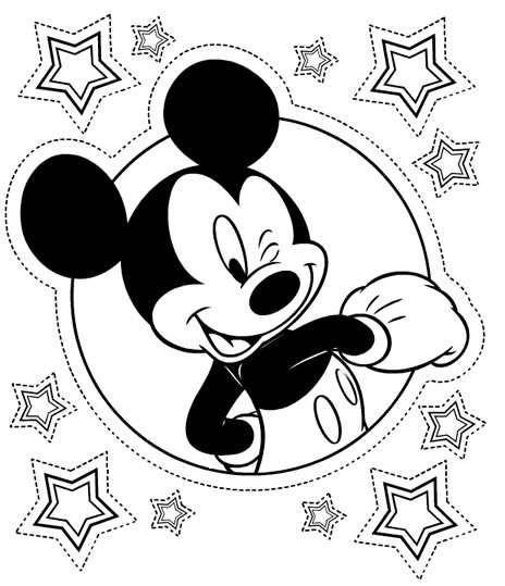Coloriage Anniversaire Mickey A Imprimer.Coloriage Mickey A Imprimer En Ligne Et Gratuit Mickey