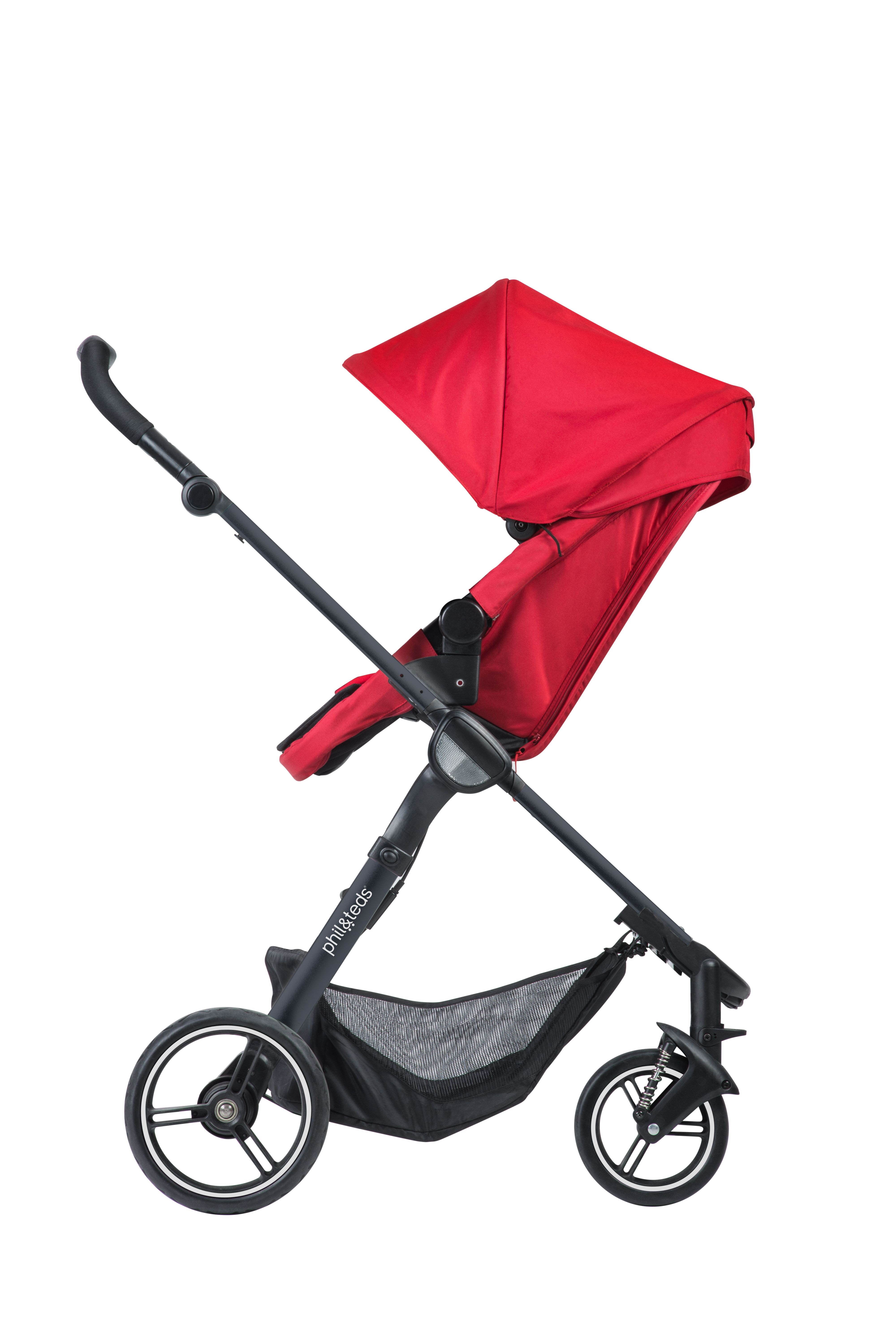 phil&teds smart lux stroller is compact & complete. as a luxury single pram smart lux seat is adaptable, changing from parent facing to world facing. everything you need to get through your parenting day in the city is here in the smart lux stroller. it's newborn ready too!