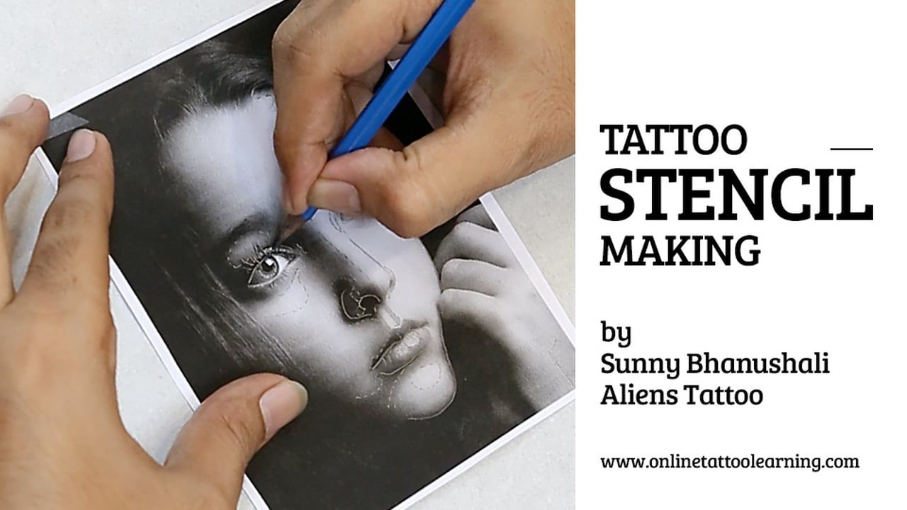 Tattoo stencil making httptattookitstattoo stencil making tattoo stencil making solutioingenieria Choice Image
