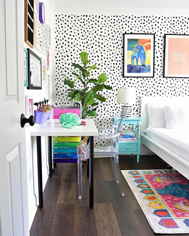 The Best Colorful Tween Girl Bedroom Decorating Ideas | Kate Decorates