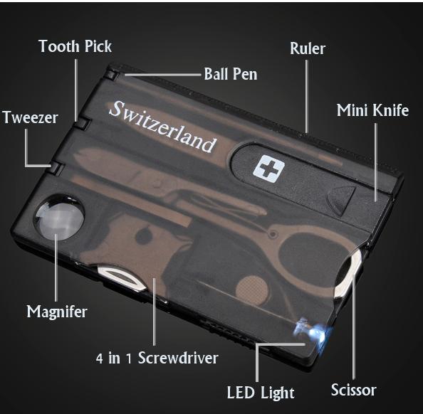 Switzerland multifunctional tool business card with led light switzerland multifunctional tool business card with led light colourmoves Image collections