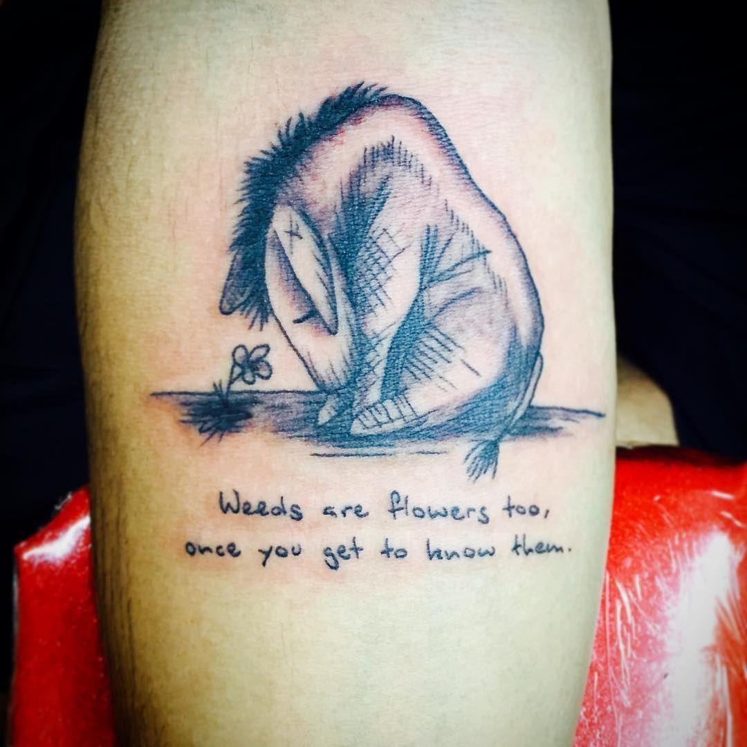 052fd1e4fc4d8 Eeyore quote tattoo   Tat ideas   Tattoos, Tattoo quotes, Eeyore tattoo