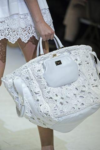 Uncinetto Che Sfila Speciale Borse Su Stranelane Crochet Bags