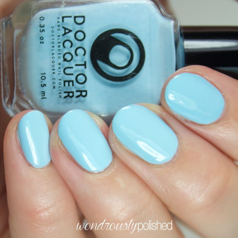 Omilu | Doctor Lacquer | Color | Blue | Pinterest