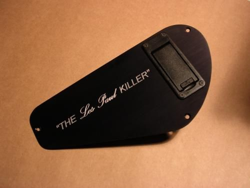 Jackson Charvel Back Plates with Installed Battery Box  No