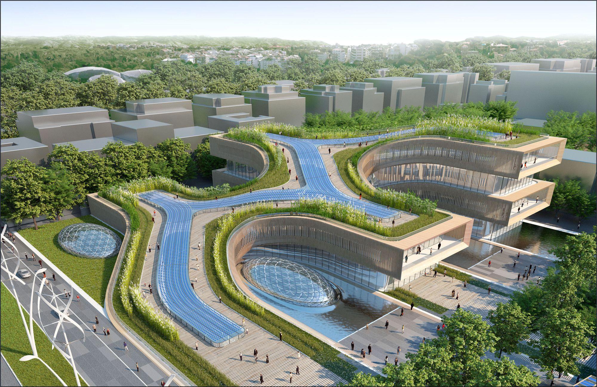 gallery of città della scienza masterplan predicts future of self